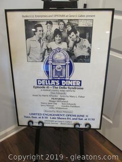 Della's Diner Poster / Gene & Gabes / Atlanta