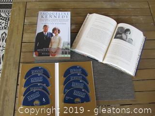 Jacqueline Kennedy / Life with John F. Kennedy  Book & CD's