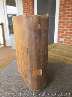 Volume 1 Holy Bible Commentary and Critical Notes By Adam Clarke 1851 See Details Below
