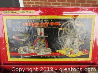 A.C. Gilbert Erector Set 8 1/2 1953 Giant Ferris Wheel