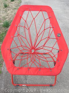 Red Bunjo Chair