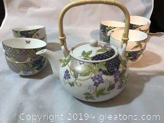 Tea set made in China,