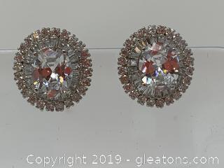Sterling Costume Earrings