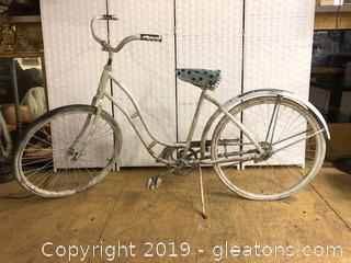 Vintage 50's Monark Silver King Bike Very Rare And Highly Sought After