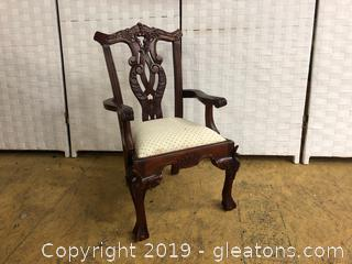 Salesman Sample Chair - Vintage Chippendale Style