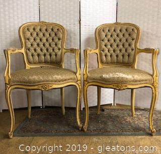 Pair Antique French Chairs