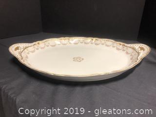 Haviland Platter Large