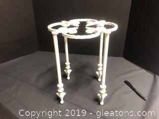 Cast Iron Plant Stand Small