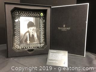 Waterford Crystal Frame In Box