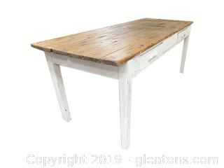 Amazing Farmhouse Table - Reclaimed Wood