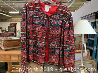 Formal Jacket Extra Large Sequin