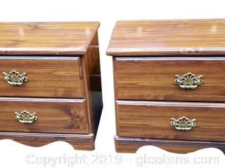 """PR Of Matching Like """"New"""" Nightstand/Side Table"""