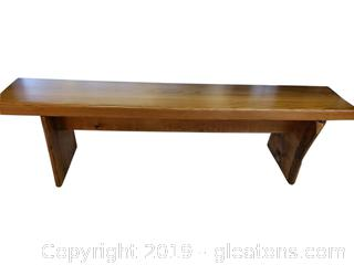 Handmade Wooden Rustic Bench Farmhouse