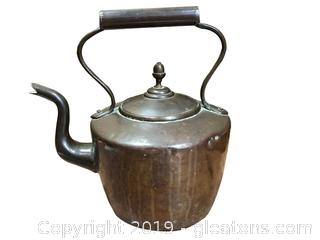 Early American Copper Kettle