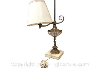Antique Lamp Marble Base