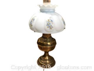 Hurricane Lamp Vintage Americana