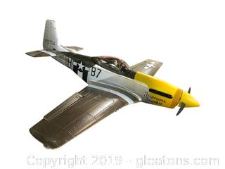 Model Airplane #413704 Ferocious Frankie Does Not Lace. Remote Control Electric