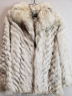 Fur Coat Saga Fox Size  Small