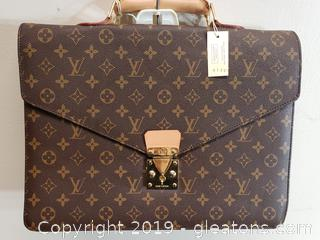 Louis Vuitton Corneille Briefcase Bag Canvas