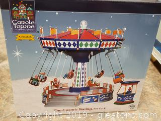 """New In box """"Carole Town Collectible Collection"""" The Cosmic Swing Set Of (2)"""