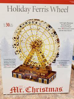 Mr. Christmas Holiday Ferris Wheel