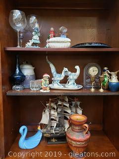 Large Lot Of Vintage Great Home Decor/Collectibles
