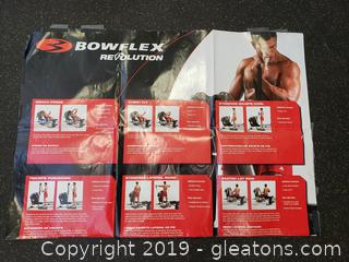 """Bowflex"" Revolution With All Attachments/Paperwork DVD For Instructions (Home Gym)"