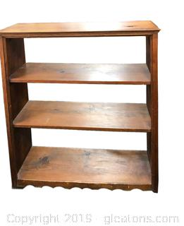 Vintage Bookshelf Solid Wood