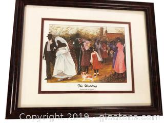 The Wedding Framed Print By Fredcvic Douglass
