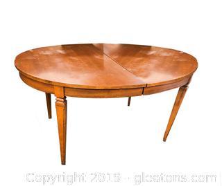 Mid Century Dining Table + Leaf