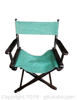 Vintage Directors Chair Canvas Material