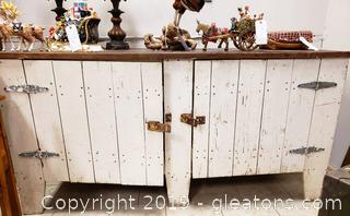 Farmhouse Design Storage Cabinet Or Buffet