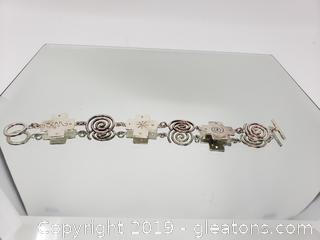 Southwestern Bracelet Silver