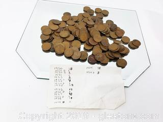 Lincoln Pennies Collection