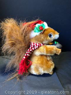 Lot 71 Holiday Squirrel