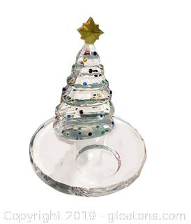 Lot 33 Partylite P9086 Christmas Tree Tealight Holder