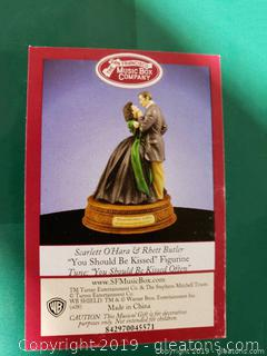 "Lot 35 The San Francisco Music Box Company Tune ""You Should Be Kissed Figurine"