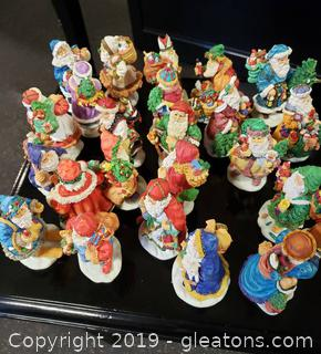 Lot 30 Lot Of (23) BC Bronson Collectibles Figurines Genuine Porcelain (Mini)