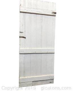 Lot 379 1800's Barn Door Came Out Of Civil War House In Palmetto GA.
