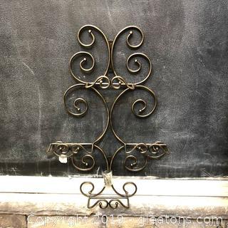 Lot 383 Princess House Plate Hanger Iron