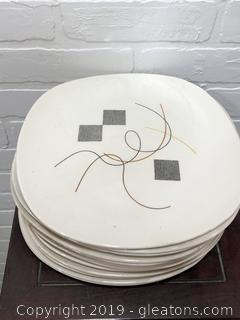 Lot of 13 Knowles Plates
