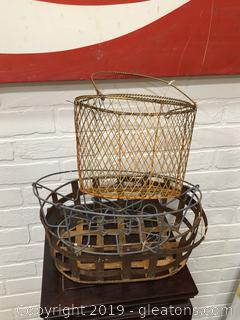 Lot of Wire Baskets
