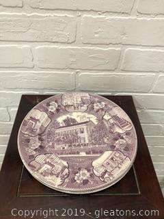Old English Staffordshireware Lincoln Plates