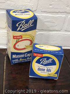 Vintage Ball Mason Jar Lids