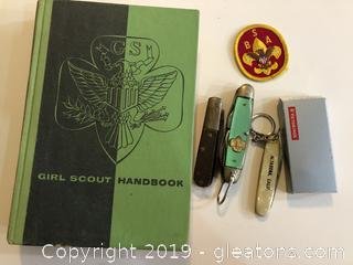Girl and Boyscout lot