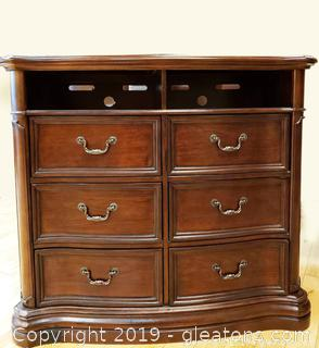 TV Combo Chest Of Drawers Made By World Class Furniture Co.