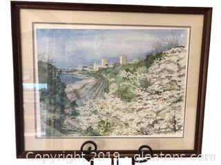 Artwork Lithograph 119/1500 Signed