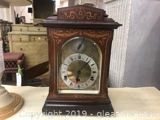 Silent Chime Clock Not Sure Of Maker No Marks Antique