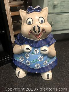 Vintage Miss Piggy Novelty Statue