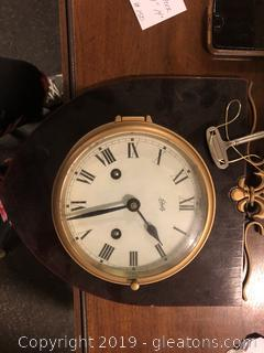 Antique Schutg Clock Wall Clock